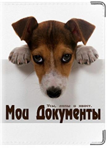 """Обложка для ветеринарного паспорта """"Мои документы"""""""