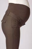 Брюки для беременных 02786 коричневый