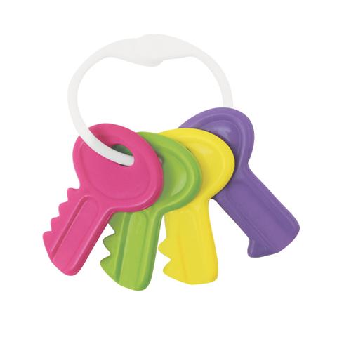 """Игрушка-погремушка """"Ключи"""", 3+ мес., полипропилен (фиолетовый)"""