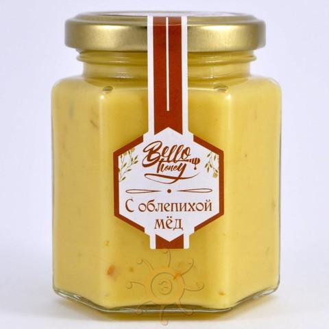 Крем-мёд с облепихой BelloHoney, 200мл