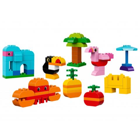 LEGO Duplo: Набор деталей для творческого конструирования 10853 — Abundant Wildlife Creative Building Set — Лего Дупло