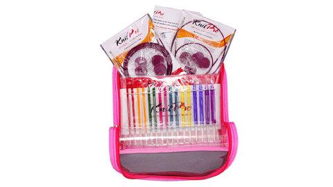 KnitPro Trendz Deluxe Набор акриловых разноцветных съемных спиц