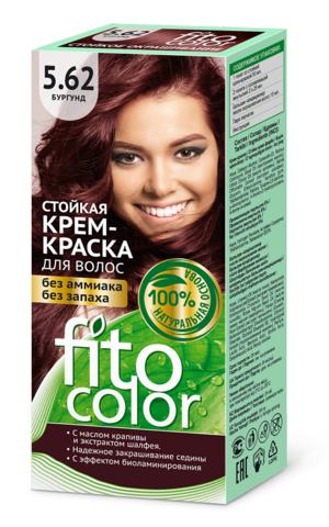 Фитокосметик Fito Color Стойкая крем-краска для волос тон Бургунд 115мл