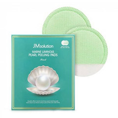 JMsolution Marine Luminous Pearl Peeling Pads - Пилинг-пэды с морскими минералами