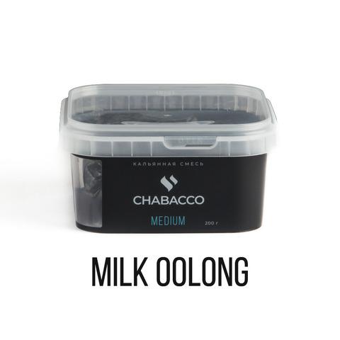 Кальянная смесь Chabacco Medium - Milk Oolong (Молочный Улун) 200 г