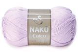Пряжа Nako Calico светло-сиреневый 11222