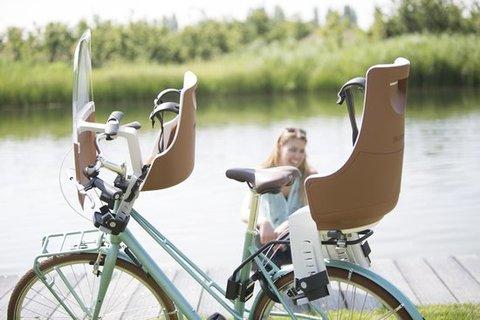 Картинка велокресло Bobike Exclusive tour safari chic