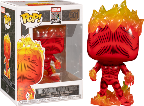 Фигурка Funko POP! Bobble: Marvel: 80th First Appearance: Human Torch 42653