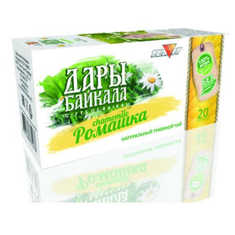 Чайный напиток Дары Байкала Ромашка, 20 пак. (Тиавит)