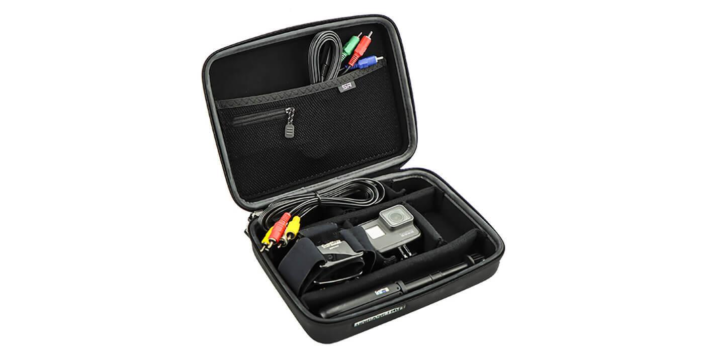 Кейс SP Elit Uni-Edition с камерой и аксессуарами