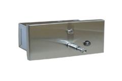 Диспенсер жидкого мыла для общественных туалетов Nofer 03202.S фото