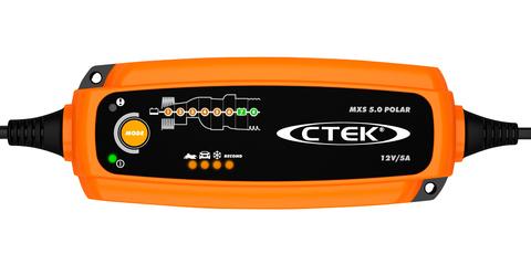 Зарядное устройство для 12В АКБ (8 этапов, 1,2‐160Aч) MXS 5.0 Polar