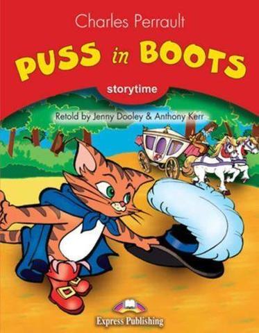 Puss in boots. Книга для чтения. Stage 2 (2-3 классы) со ссылкой на электронное приложение