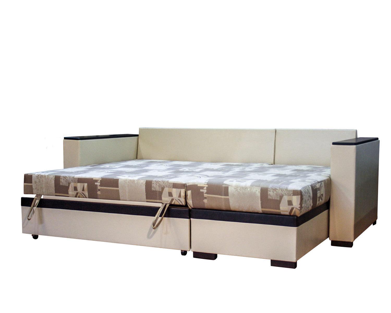 угловой диван-кровать Карелия-Люкс, спальное место 1450х1900 мм