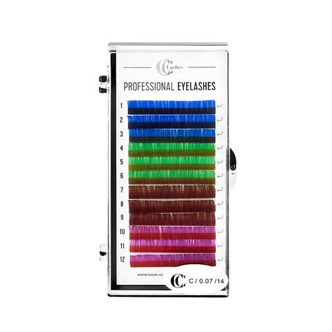 Ресницы CC Lashes, color mix