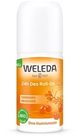 Weleda Облепиховый дезодорант 24 часа Roll-On, 50 мл