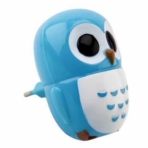 Детский ночник Сова LE LED NL-820 0,6W Синий