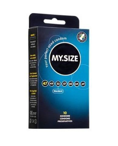Презервативы MY.SIZE размер 47 - 10 шт.