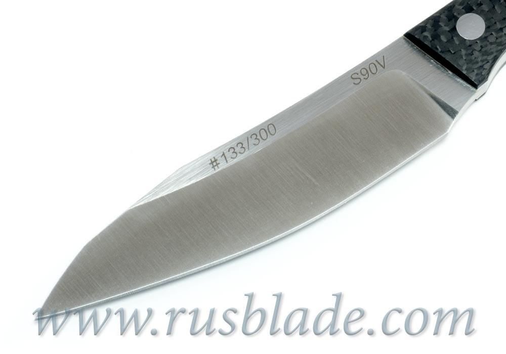 CKF Asymmetric midi SUPER SET (Alexey Konygin design, S90V, titanium, CF)