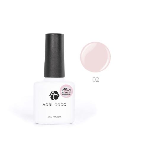 Гель-лак ADRICOCO Est Naturelle №02 камуфлирующий нежно-розовый (8 мл.)