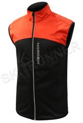 Детский лыжный жилет Nordski Active Red-Black 2020