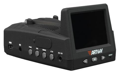Видеорегистратор с радар-детектором ARTWAY MD-102