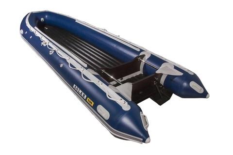 Надувная ПВХ-лодка Солар - 600 Jet Tunnel (синий)
