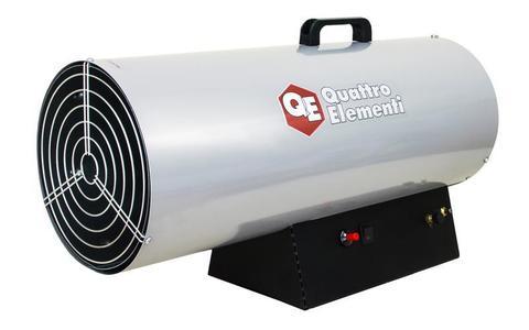Нагреватель воздуха газовый QUATTRO ELEMENTI QE-35G (12 - 35кВт, 750 м.куб/ч,  2,6 л/ч, 8, (243-950)
