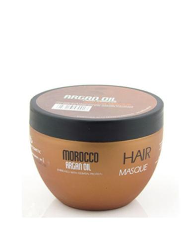 Восстанавливающая маска с маслом арганы, протеинами и аминокислотами кератина, Argan Oil from Morocco Nuspa, 250мл