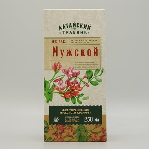 Бальзам Алтайский травник Мужской GREEN SIDE, 250 мл