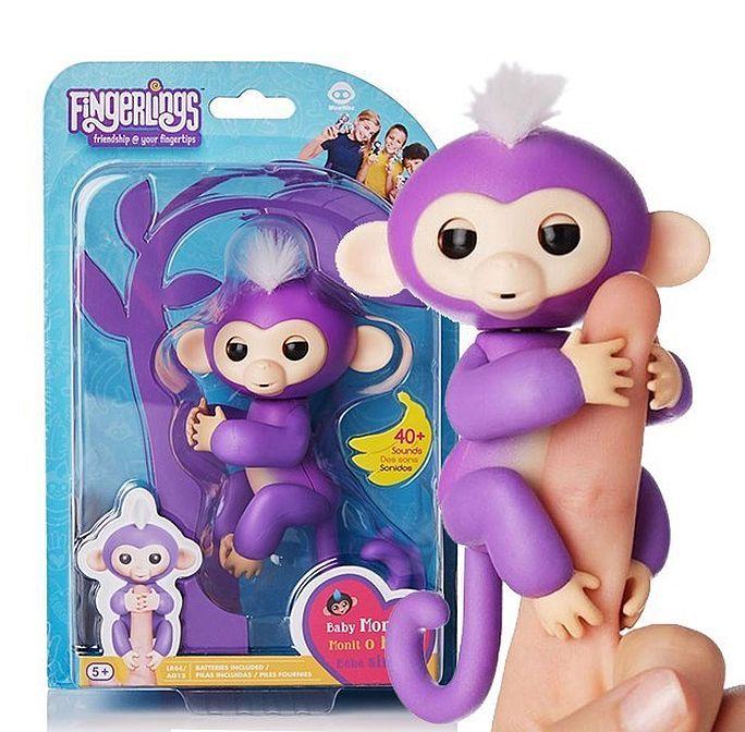 Интерактивная обезьянка Fingerlings Monkey
