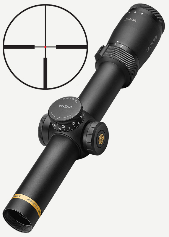 Leupold VX-5HD 1-5x24 FireDot 4 Fine, red-dot