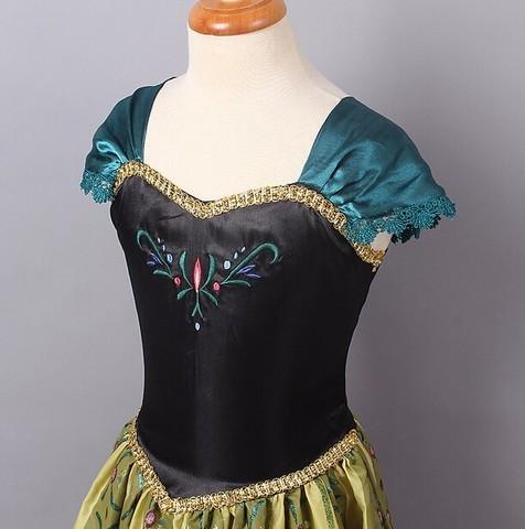Холодное сердце платье Анны Праздничное