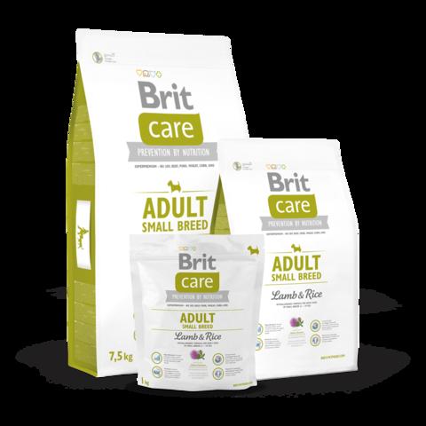 Brit Care Adult Small Breed Сухой корм для собак мелких пород Ягненок и Рис