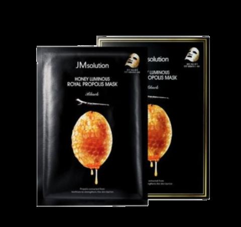 Jmsolution Honey Luminous Royal Propolis Mask/ Маска для лица с прополисом и маточным молочком 1шт