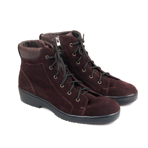 561359 ботинки женские коричневые. КупиРазмер — обувь больших размеров марки Делфино