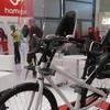 Картинка велокресло Hamax Caress Observer серый/черный/красный