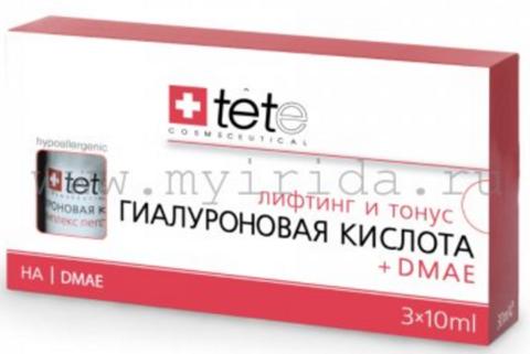Гиалуроновая кислота + ДМАЕ (Hyaluronic Acid + DMAE) Tete (Швейцария) 10 мл