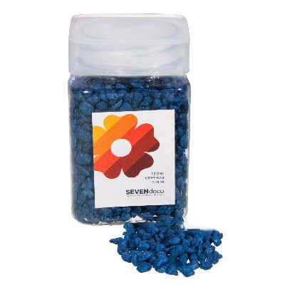 Грунт цветной Синий 4-6 мм