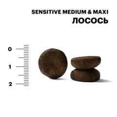 Karmy Sensitive Medium&Maxi Лосось, 15кг.