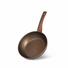 14896 FISSMAN Глубокая cковорода MICA STONE GOLD 24x6,5см (алюминий)