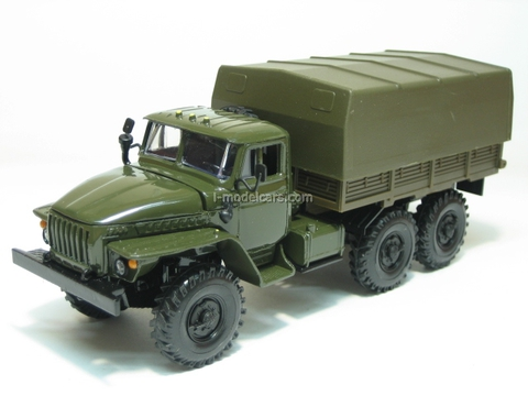 Ural-4320 with awning khaki Elecon 1:43