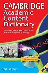 C Academic Content Dict Ppr +R