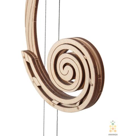 Маятник от Wooden City - сборная деревянная модель, конструктор, 3D пазл