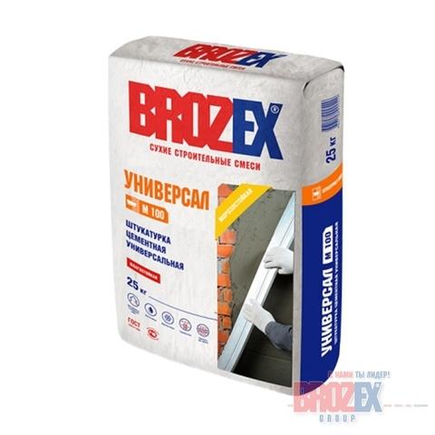 Штукатурка Brozex М 100 Универсал 25 кг