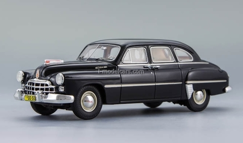 GAZ-12 ZIM-12 black 1950 Limited Edition 252 pcs. DIP 1:43