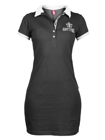 Платье поло Варгградъ чёрное