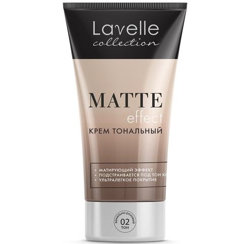 LavelleCollection Крем тональный Matte Effect тон 2 ванильно-розовый FTM-02