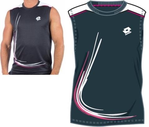 Майка теннисная Lotto T-SHIRT SL TRAIL N5820