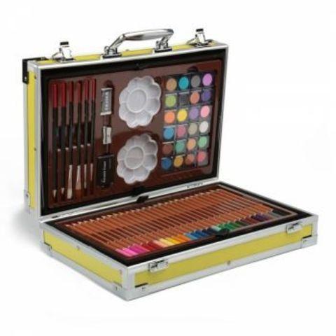 Набор для рисования в кейсе ( 145 предметов )